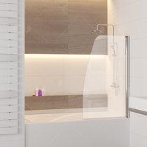 Шторка на ванну RGW SC-36, профиль хром, стекло прозрачное 70x150 (01113607-11)