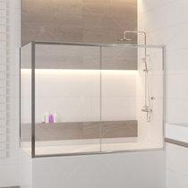 Шторка на ванну RGW SC-82, профиль хром, стекло прозрачное 70x170 (04118277-11)