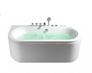 Гидромассажная ванна Frank F160 пристенная