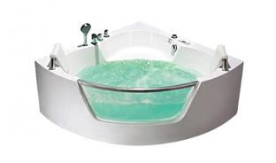 Гидромассажная ванна Frank F165 угловая