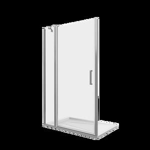 Душевая дверь Good Door Fantasy WTW-100-C-CH, цвет профиля хром, цвет стекла прозрачное, 100x185