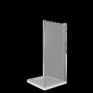 Душевая дверь Good Door Fantasy DR-80-С-CH, цвет профиля хром, цвет стекла прозрачное, 80x185