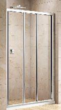 Душевая дверь Cezares FAMILY-B-BF-3-150-C-Cr стекло прозрачное, профиль хром