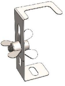 Телескопические ножки из нержавеющей стали AISI 304 для душевых каналов ACO C-line и B-line (9010.66.99)