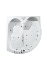 Гидромассажная ванна Black&White GB5005 175x160