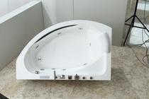 Гидромассажная ванна Black&White GB5008 R/L 160x100