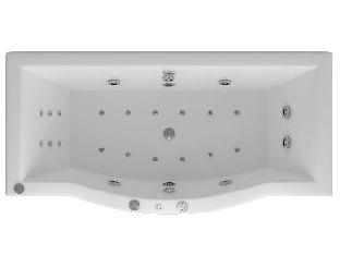 Ванна акриловая Aquatek Гелиос