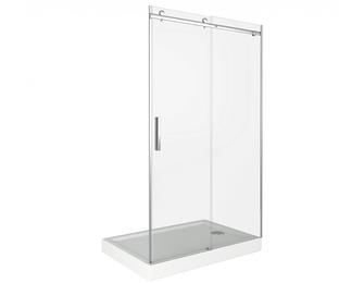 Душевая дверь Good Door Galaxy WTW-150-C-B, цвет профиля хром, цвет стекла прозрачное, 150x195