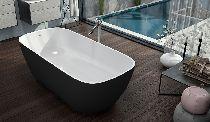 Ванна Kolpa-San GLORIA FS BLACK 180x80
