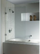 Шторка для ванны Riho Soft Q107 900X1500 Left