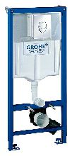 Инсталляция для унитаза Grohe Rapid SL 38721001 (Комплект: инсталляция, кнопка, крепеж)
