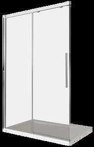 Душевая дверь Good Door Idea WTW-130-C-CH, цвет профиля хром, цвет стекла прозрачное, 130x195