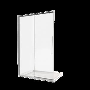 Душевая дверь Good Door Idea WTW-120-C-B, цвет профиля черный, цвет стекла прозрачное, 120x195
