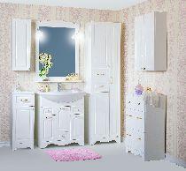 Комплект мебели Бриклаер Анна 75 Белый