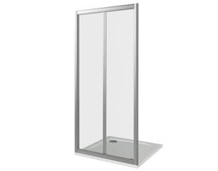 Душевая дверь Good Door Infinity SD-90-G-CH, цвет профиля хром, цвет стекла тонированное, 90x185