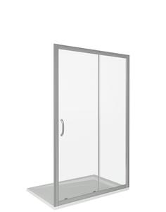 Душевая дверь Good Door Infinity WTW-TD-160-C-CH, цвет профиля хром, цвет стекла прозрачное, 160x185