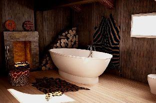 Мраморная ванна Esse Jamba 188х94