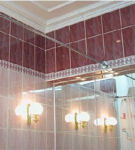 Карниз для ванны прямой