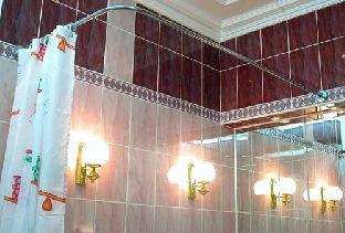 Карниз для ванны Г-образный