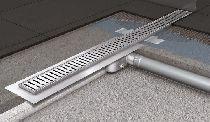 Душевой канал Aco C-line 585х92 мм с фланцем (408714)