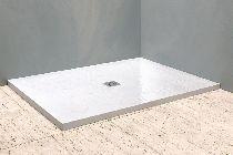 Душевой поддон Kolpa-San Hora stone 120x90 white