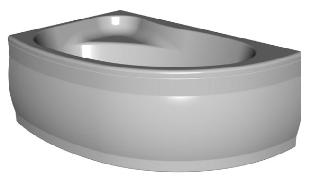 Гидромассажная ванна Kolpa-San Romeo 155x100 SUPERIOR