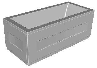 Панель фронтальная для ванны Kolpa-San RAPIDO 200