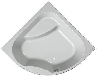 Гидромассажная ванна Kolpa-San Swan 160x160 SUPERIOR