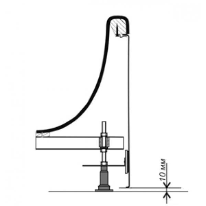 Крепление фронтальной панели