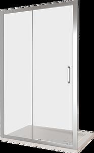 Душевая дверь Good Door Latte WTW-TD-150-C-WE, цвет профиля хром, цвет стекла прозрачное, 150x185