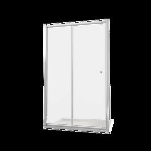 Душевая дверь Good Door Lira WTW-100-C-CH, цвет профиля хром, цвет стекла прозрачное, 100x185