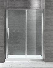 Душевая дверь Cezares LUX-SOFT-BF-1-120-C-Cr-IV стекло прозрачное, профиль хром