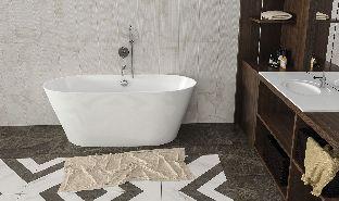 Мраморная ванна Esse Luzon 159х63