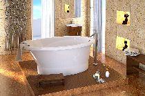 Мраморная ванна Esse Milos 179х104