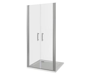 Душевая дверь Good Door Mokka SD-100-C-WE, цвет профиля хром, цвет стекла прозрачное, 100x185
