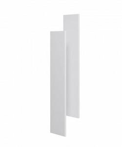Комплект боковин зеркального шкафа Aqwella Mobi белый MOB0717W