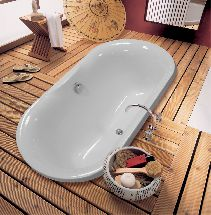 Мраморная ванна Астра-Форм Монако 174х80