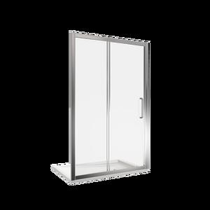 Душевая дверь Good Door Neo WTW-110-C-CH, цвет профиля хром, цвет стекла прозрачное, 110x185