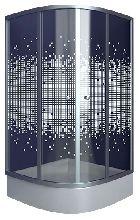 Душевой уголок Niagara NG-001 90x90x190 профиль хром стекло прозрачное