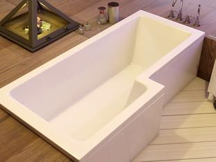 Акриловая ванна Vayer Options 170x70/85