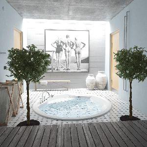 Акриловая ванна PAA RONDO