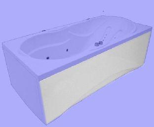 Панель фронтальная для ванны Aquatika АТЛАНТИС