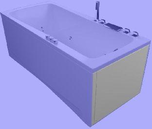 Панель торцевая для ванны Aquatika АВЕНТУРА 70, 75 LR