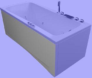 Панель фронтальная для ванны Aquatika АВЕНТУРА 150, 160, 170