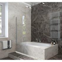 Шторка на ванну Veconi PL-79 70x150 стекло прозрачное