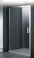 Душевая дверь Cezares PORTA-BF-1-120-C-Cr стекло прозрачное, профиль хром