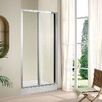 Душевая дверь Cezares PORTA-BS-90-C-Cr стекло прозрачное, профиль хром