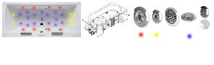 Гидромассажная система Riho PRO 8