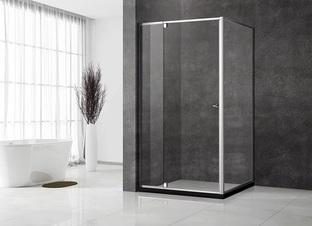 Душевой угол Veconi RV-032 80x90x195 стекло прозрачное профиль хром (RV032-8090-01-C5)