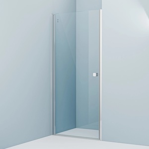 Душевая дверь Iddis Ray 90x195 стекло прозрачное профиль хром (RAY6CP9i69)